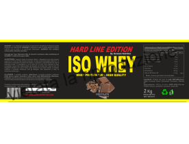 ISO WHEY 2Kg proteine isolate e concentrate